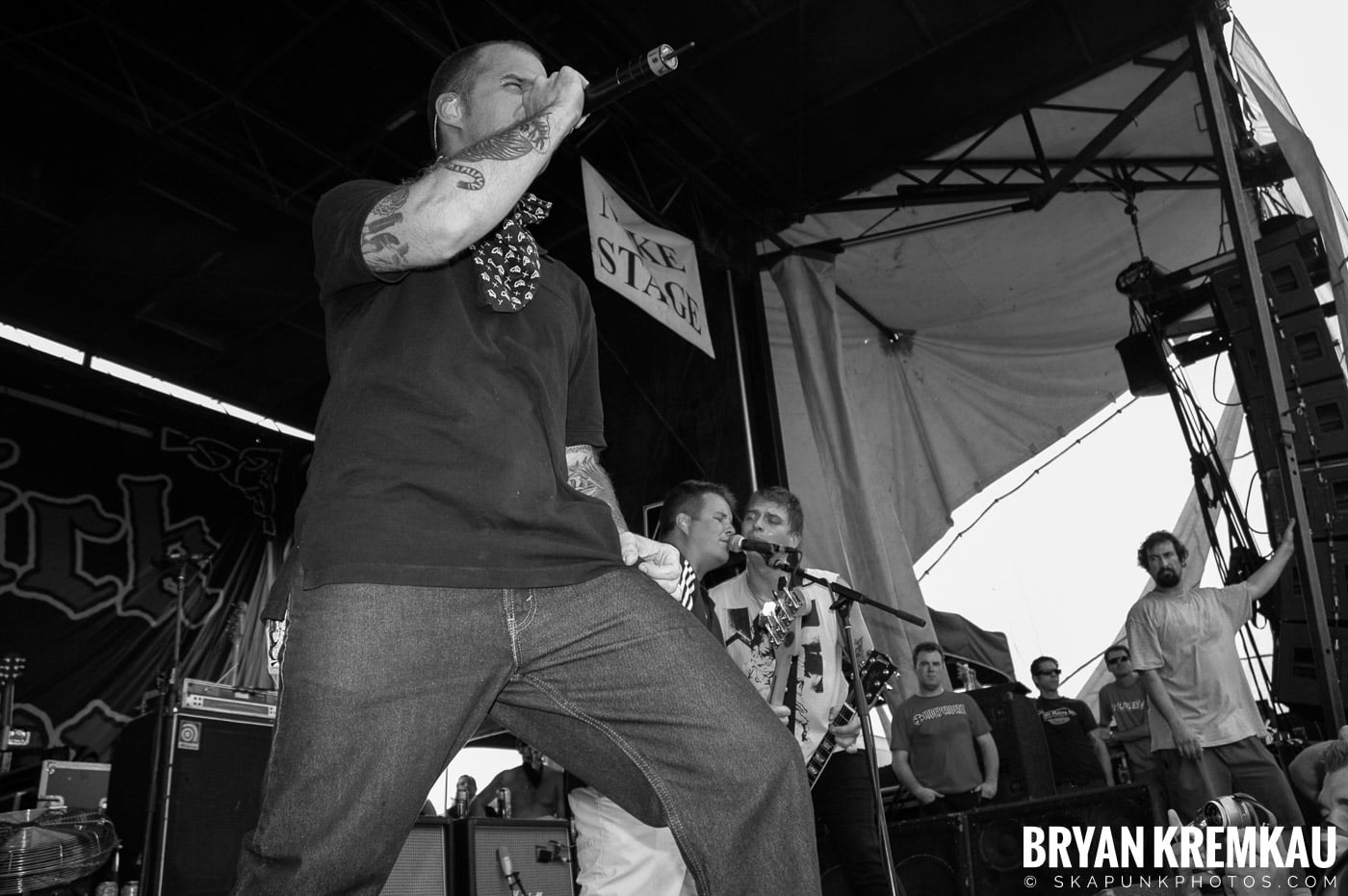 Dropkick Murphys @ Warped Tour 05, NYC - 8.12.05 (1)