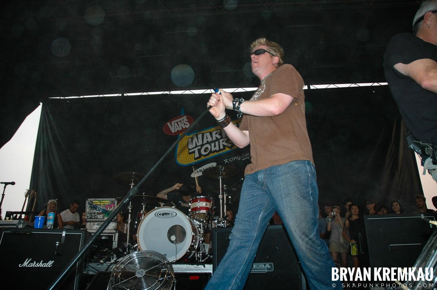The Offspring @ Warped Tour 05, NYC - 8.12.05 (15)