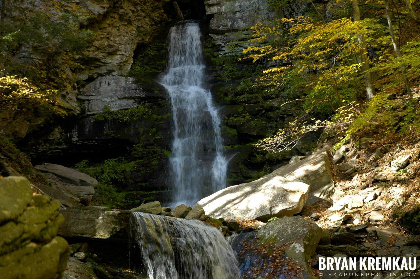 Peekamoose Waterfalls @ Sundown, NY - 10.6.06 (25)