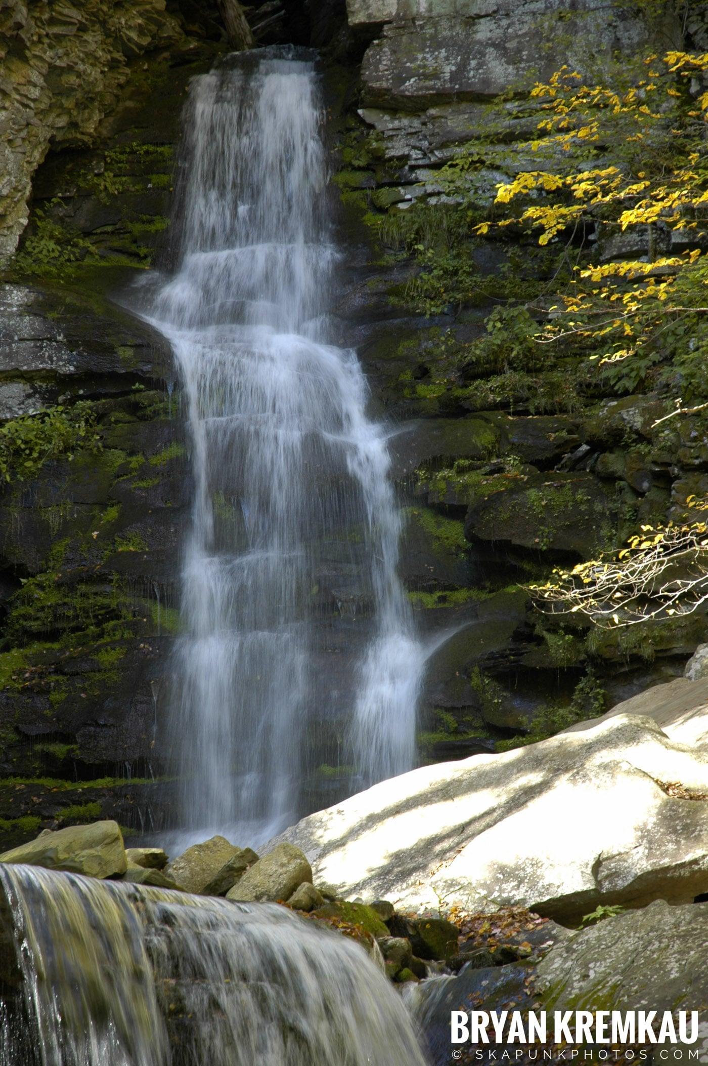 Peekamoose Waterfalls @ Sundown, NY - 10.6.06 (24)