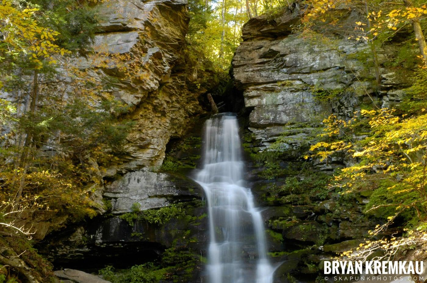 Peekamoose Waterfalls @ Sundown, NY - 10.6.06 (23)