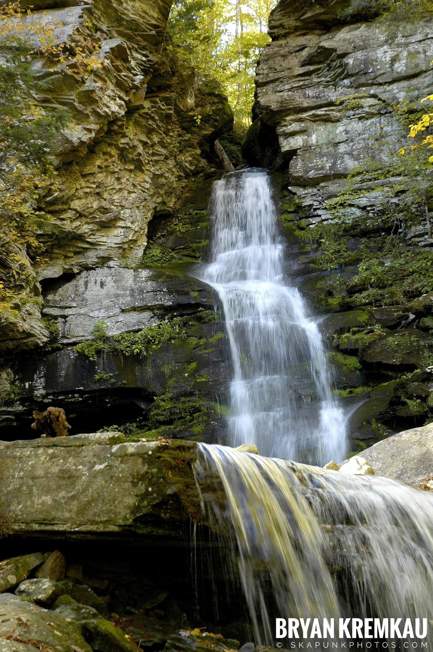 Peekamoose Waterfalls @ Sundown, NY - 10.6.06 (22)
