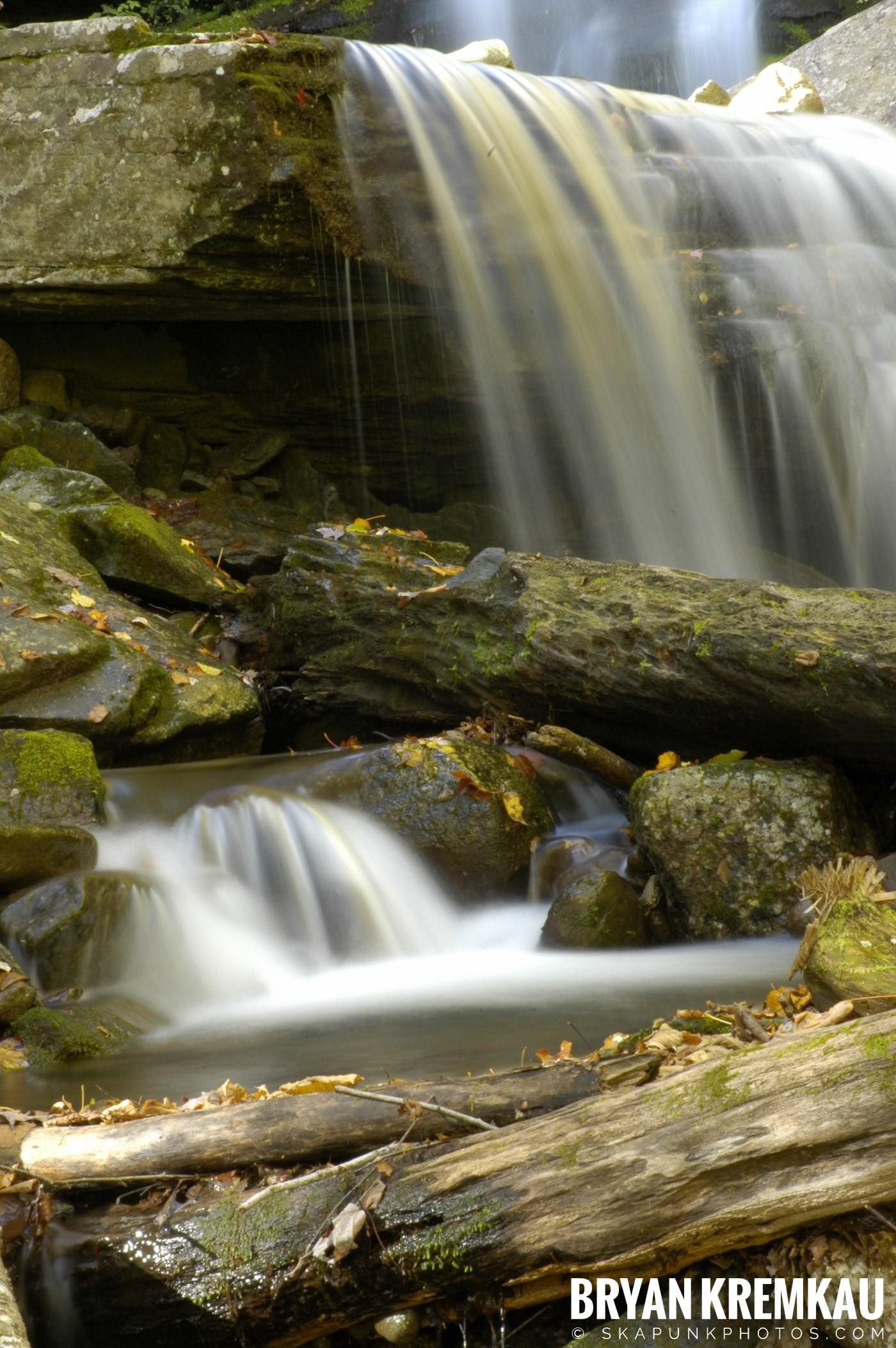 Peekamoose Waterfalls @ Sundown, NY - 10.6.06 (21)