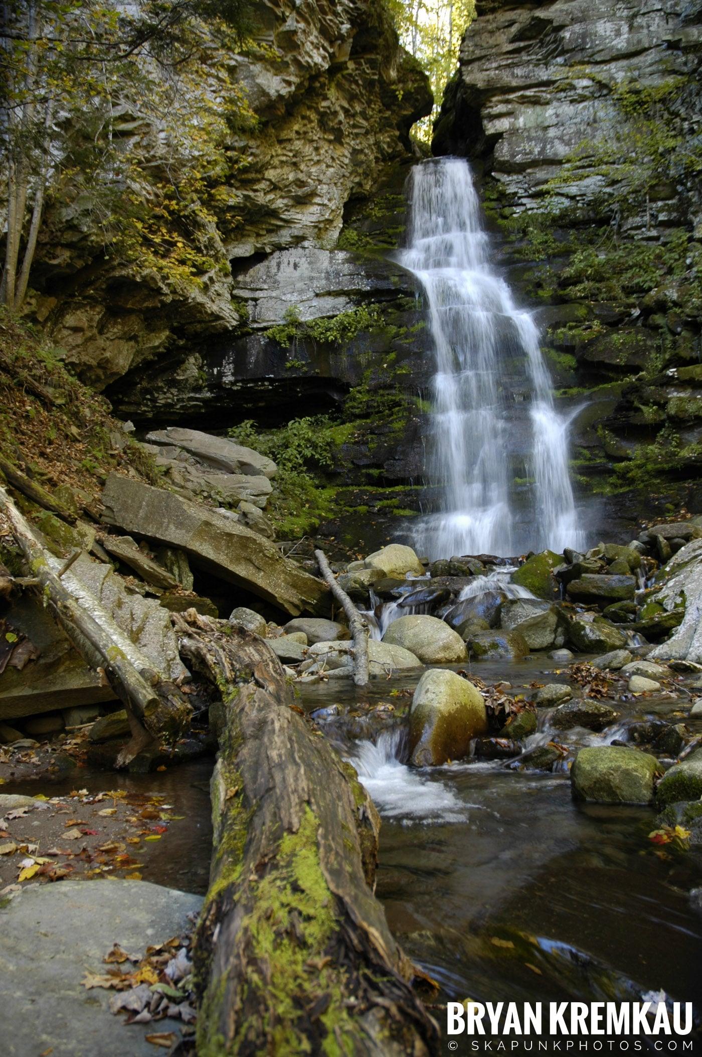 Peekamoose Waterfalls @ Sundown, NY - 10.6.06 (20)