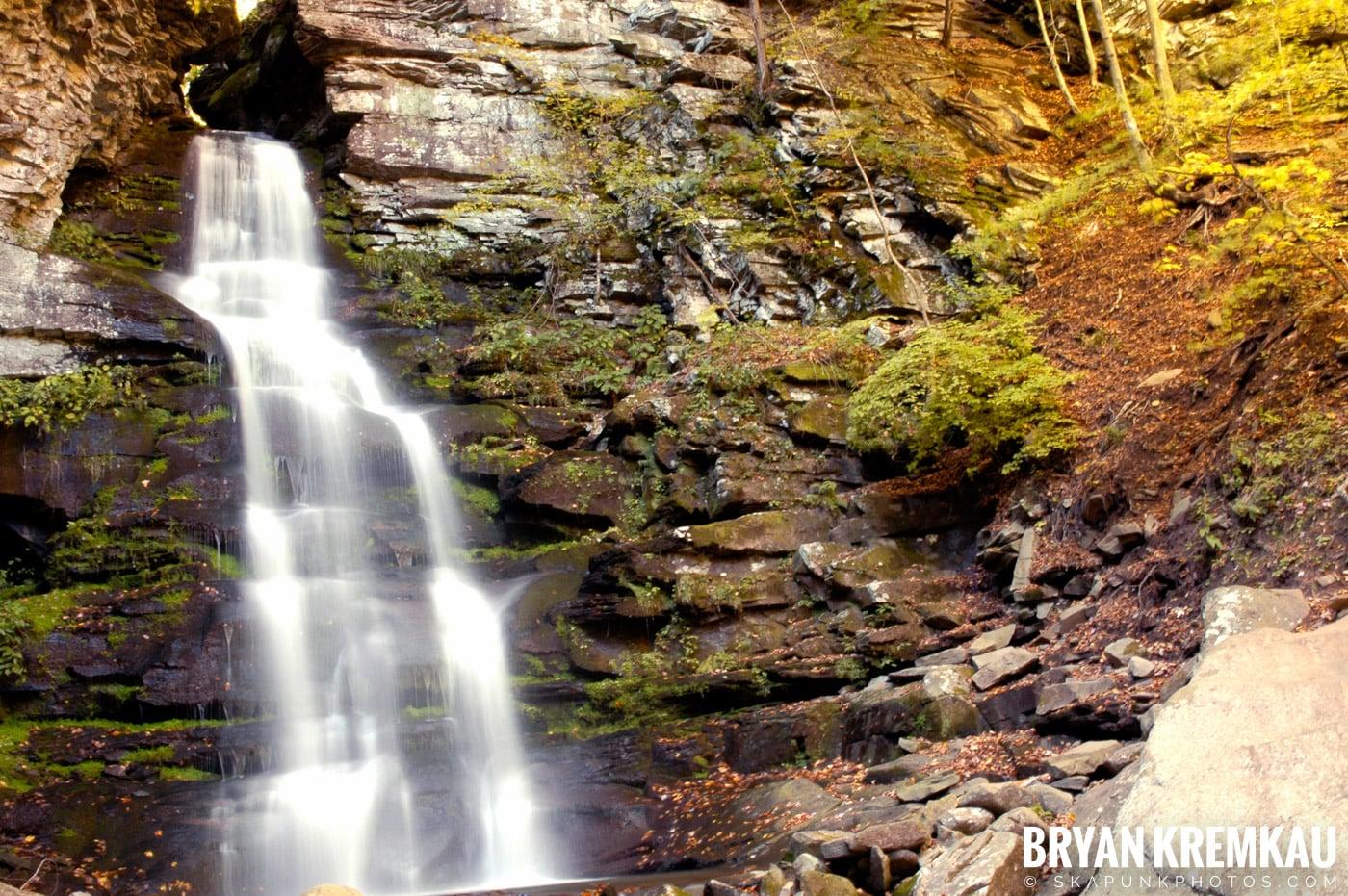 Peekamoose Waterfalls @ Sundown, NY - 10.6.06 (19)