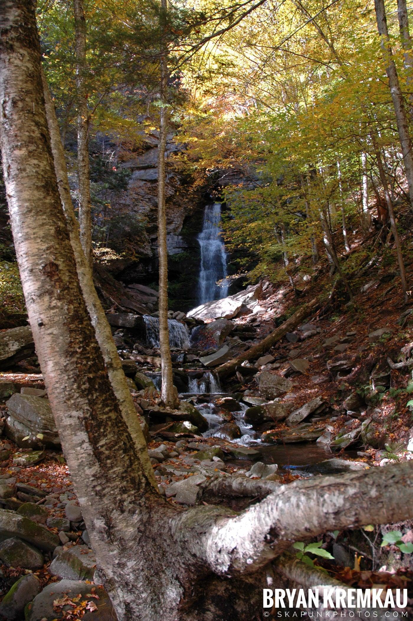 Peekamoose Waterfalls @ Sundown, NY - 10.6.06 (7)