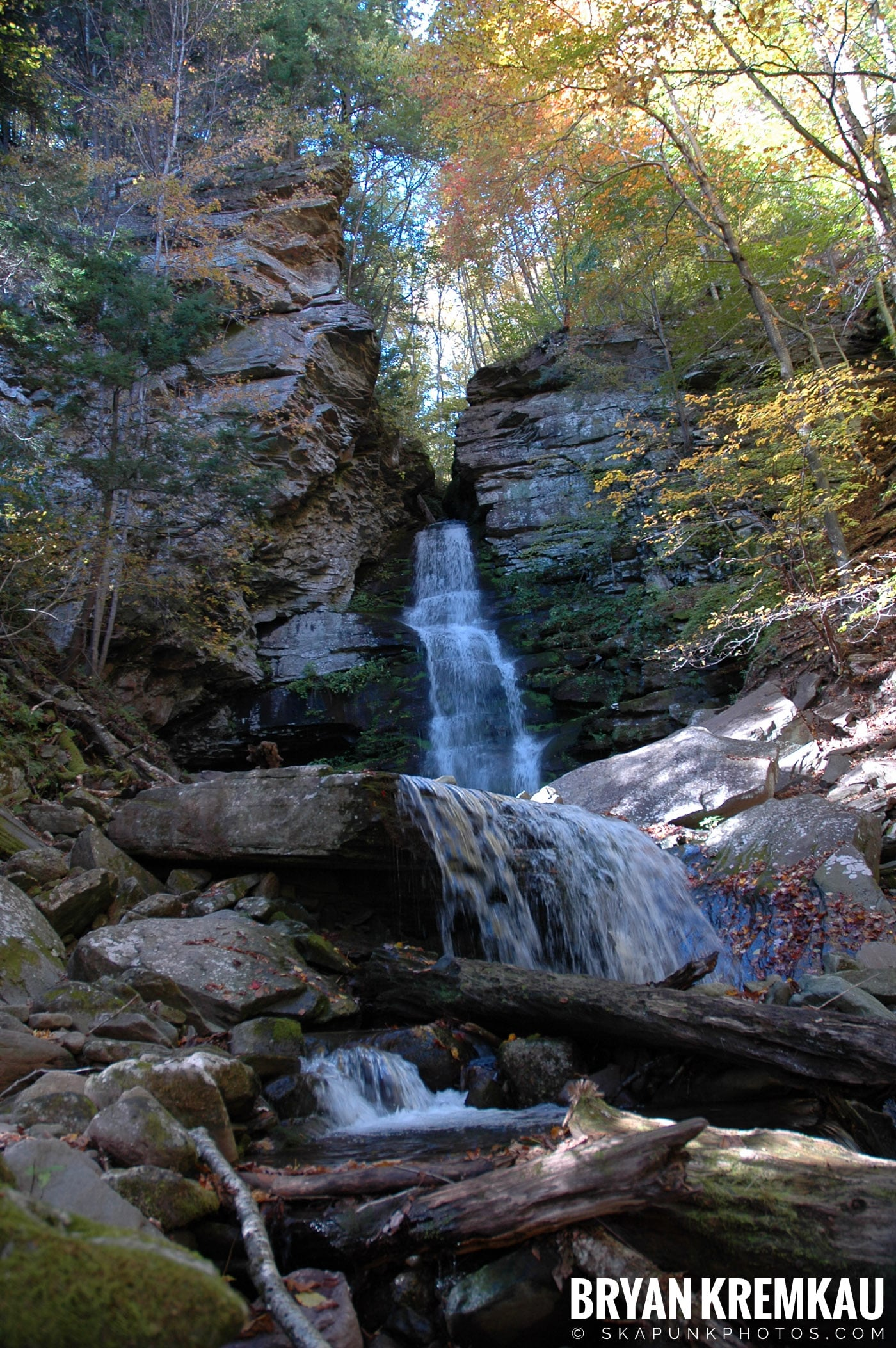 Peekamoose Waterfalls @ Sundown, NY - 10.6.06 (6)