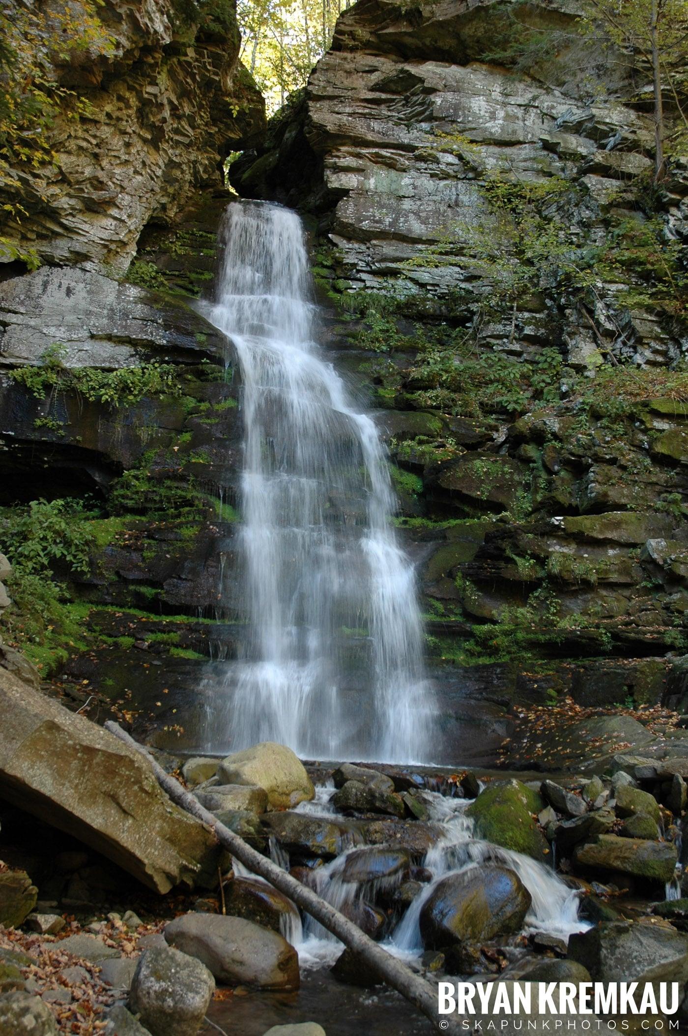 Peekamoose Waterfalls @ Sundown, NY - 10.6.06 (5)
