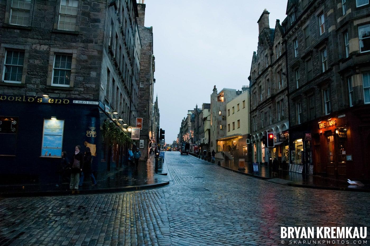 Edinburgh, Scotland - Day 1 - 12.12.06 (2)