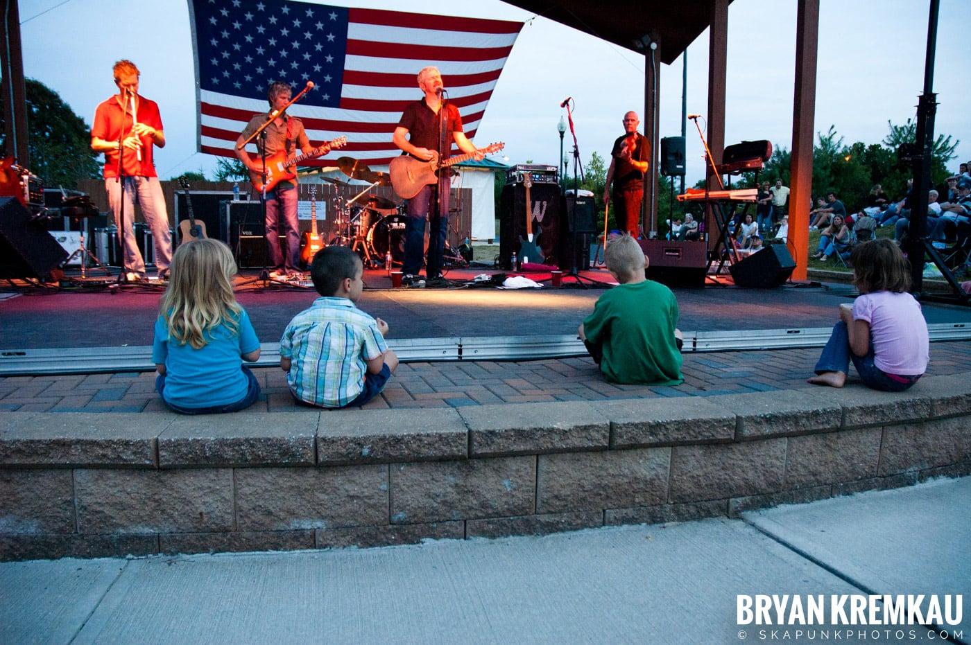 The Young Dubliners @ Burlington County Amphitheater, Burlington, NJ - 8.19.07 (12)