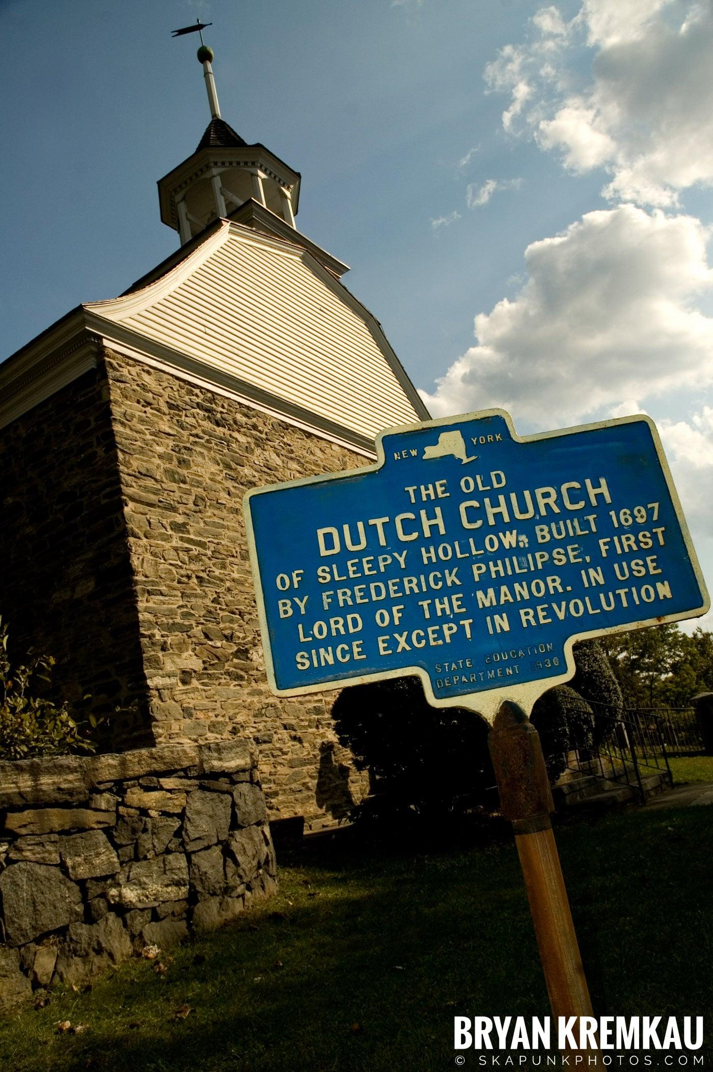 The Old Dutch Church & Lyndhurst Mansion @ Sleepy Hollow/Tarrytown, NY - 10.20.07 (34)