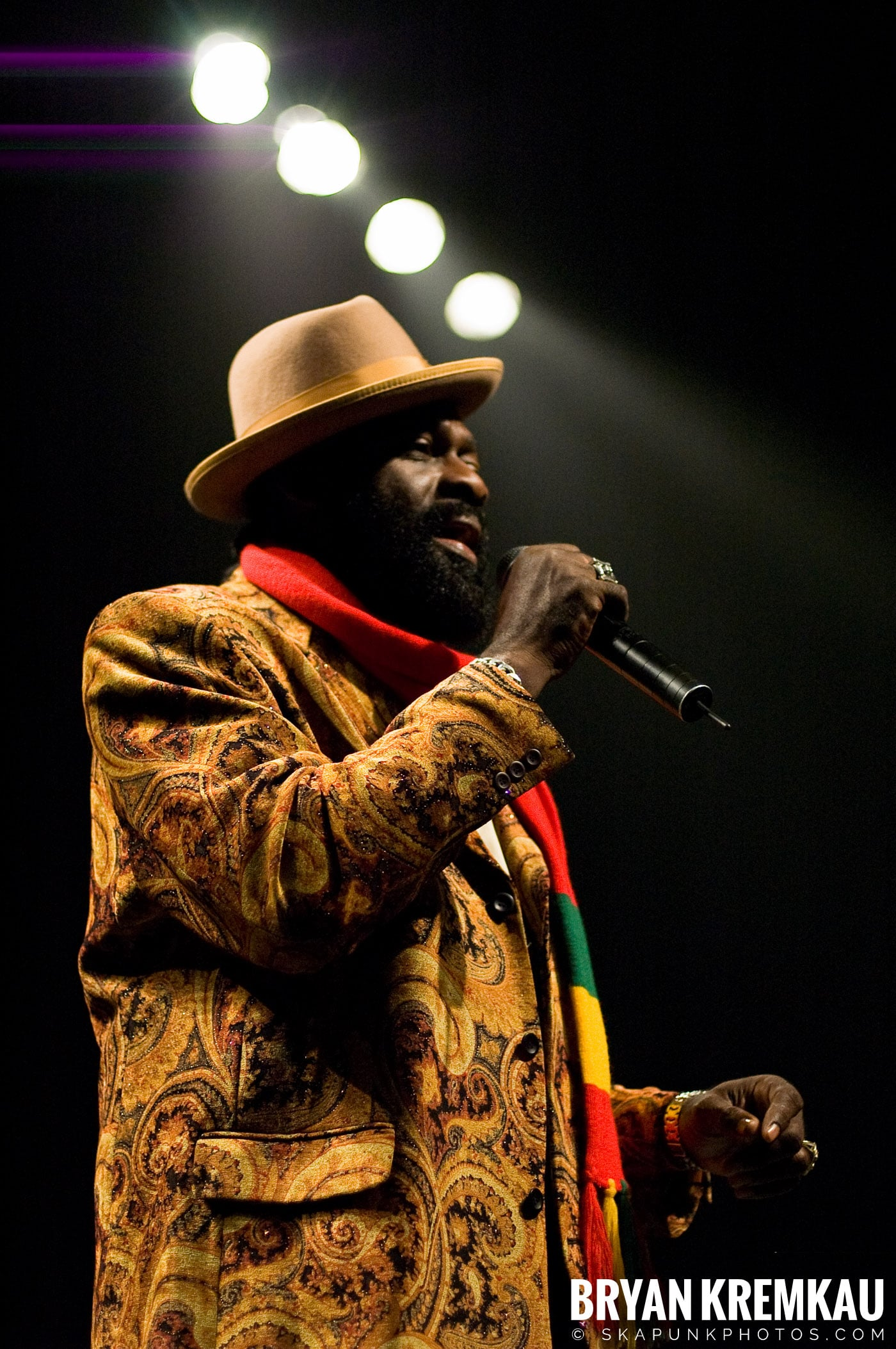 Jimmy Riley @ Vintage Reggae Fest - Hammerstein Ballroom, NYC - 12.16.07 (2)