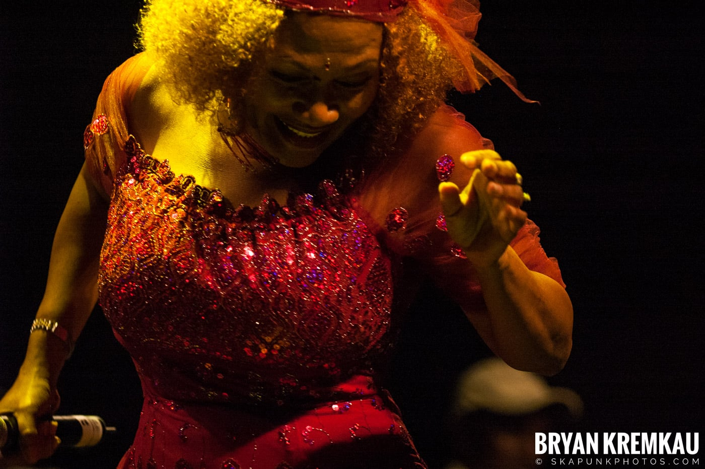 Marcia Griffiths @ Vintage Reggae Fest - Hammerstein Ballroom, NYC - 12.16.2007 (6)