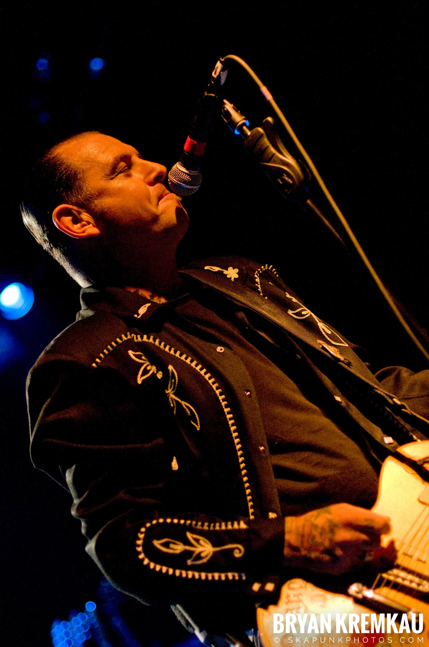 Mike Ness @ The Fillmore at Irving Plaza, NYC - 5.15.08 (12)