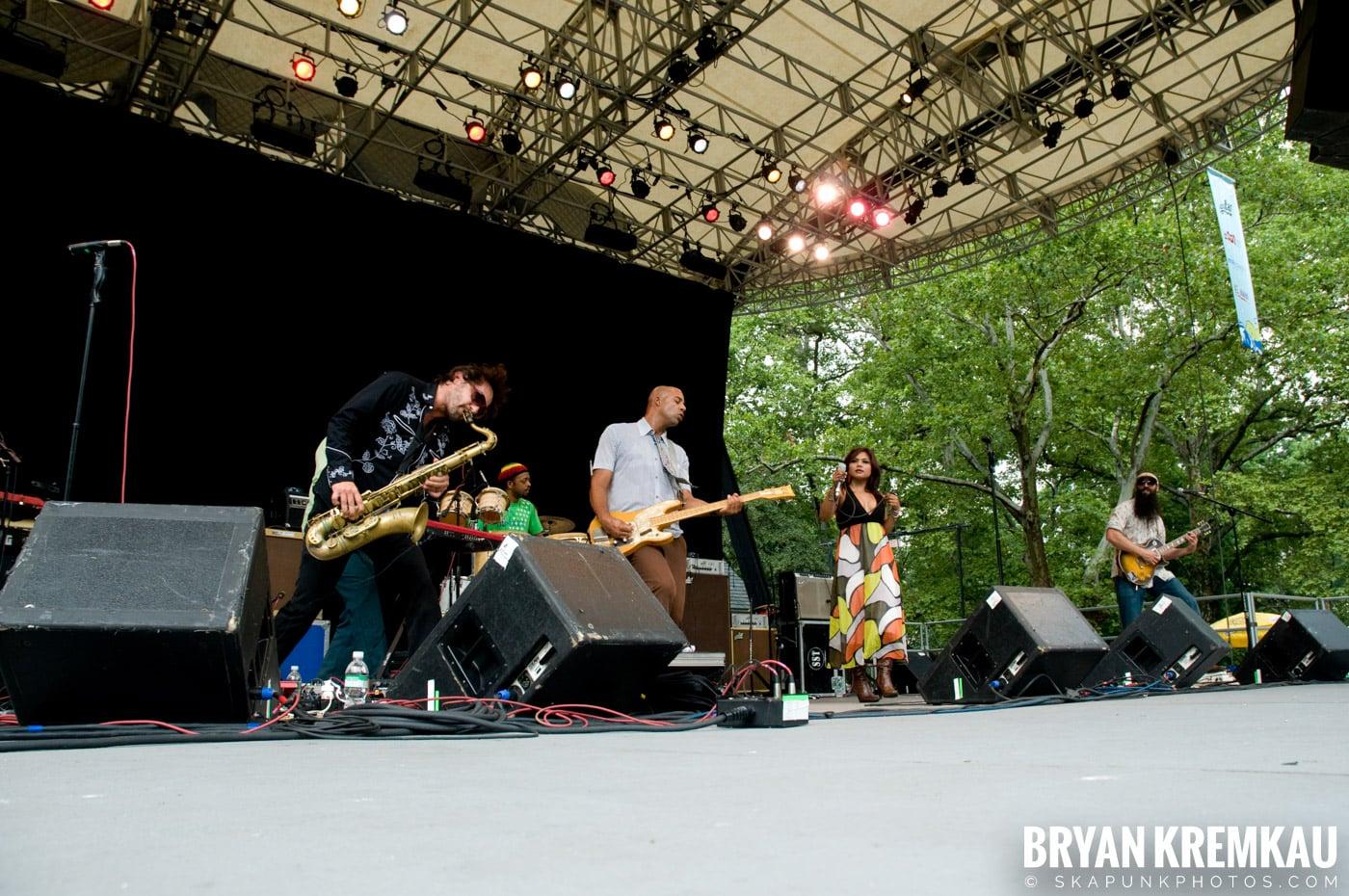 Dengue Fever @ Central Park SummerStage, NYC - 7.5.08 (3)