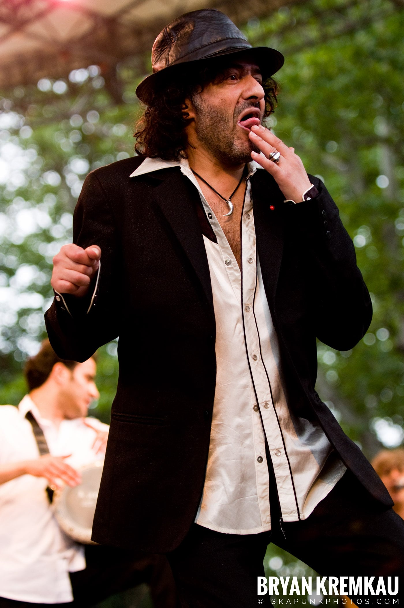 Rachid Taha @ Central Park SummerStage, NYC - 7.5.08 (3)