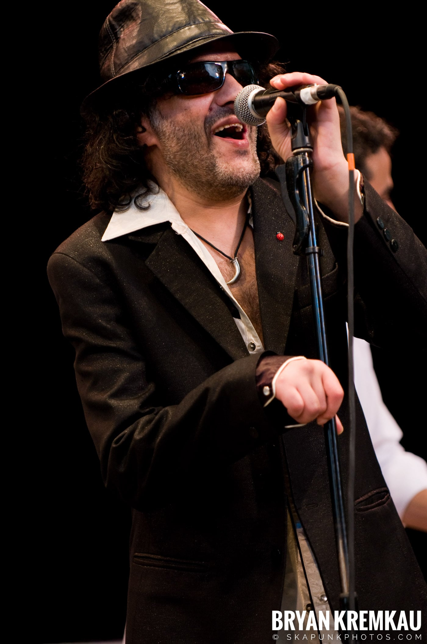 Rachid Taha @ Central Park SummerStage, NYC - 7.5.08 (2)