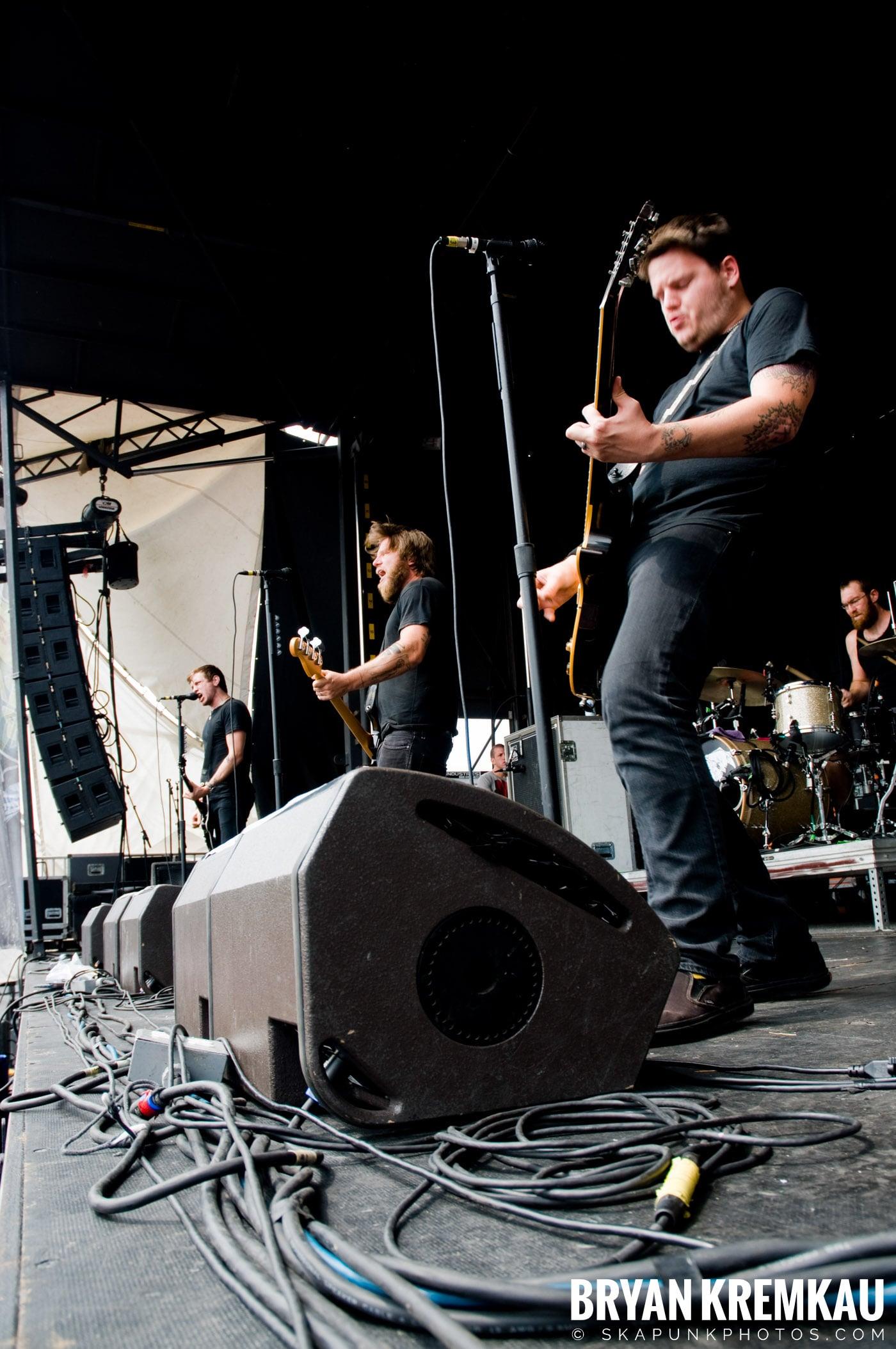 Against Me @ Warped Tour 08, Scranton PA - 7.27.08 (8)