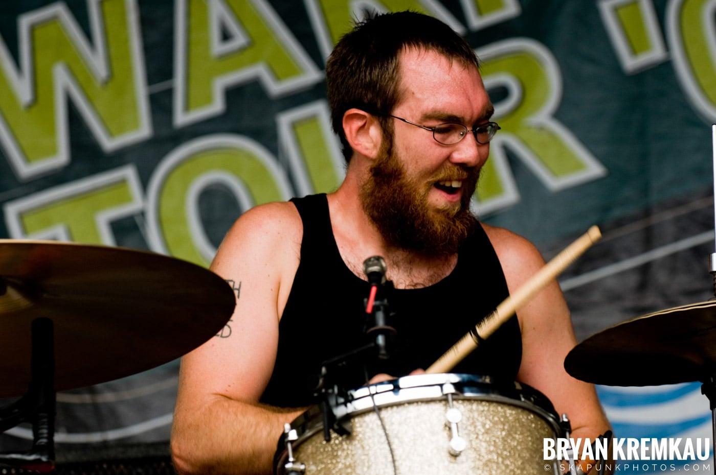 Against Me @ Warped Tour 08, Scranton PA - 7.27.08 (3)