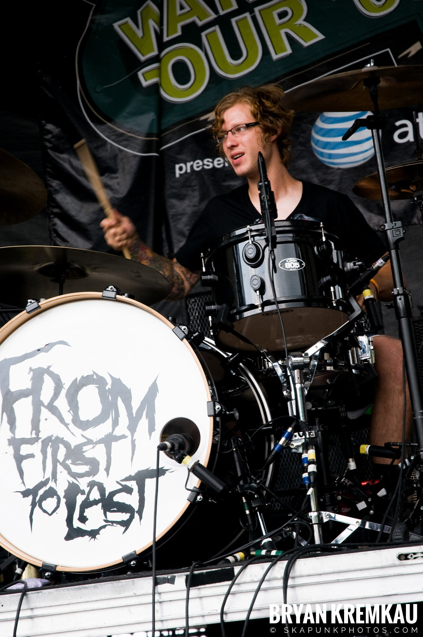 From First To Last @ Warped Tour 08, Scranton PA - 7.27.08 (8)