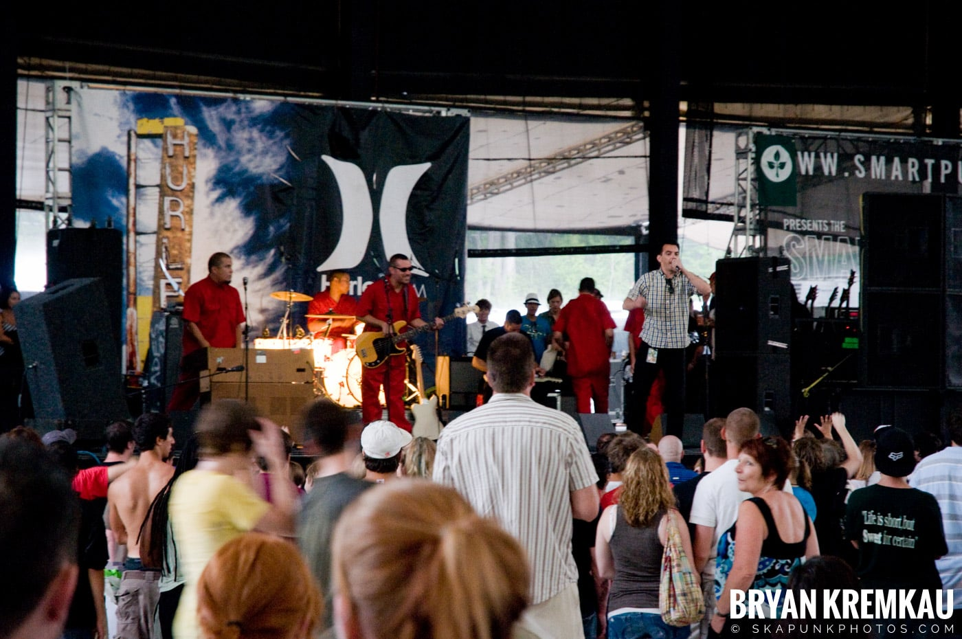 The Aggrolites @ Warped Tour 08, Scranton PA - 7.27.08 (1)
