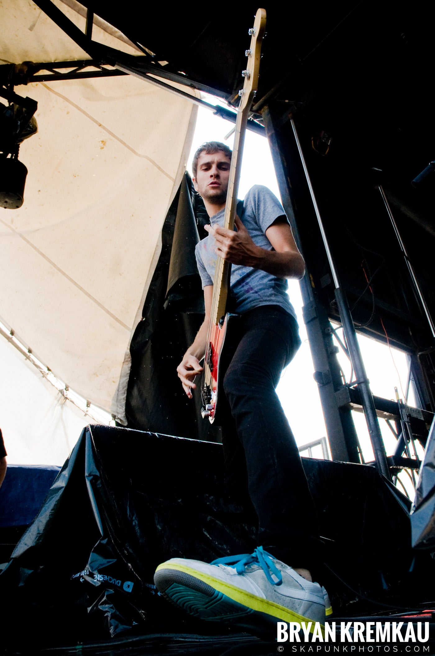 The Academy Is @ Warped Tour 08, Scranton PA - 7.27.08 (5)
