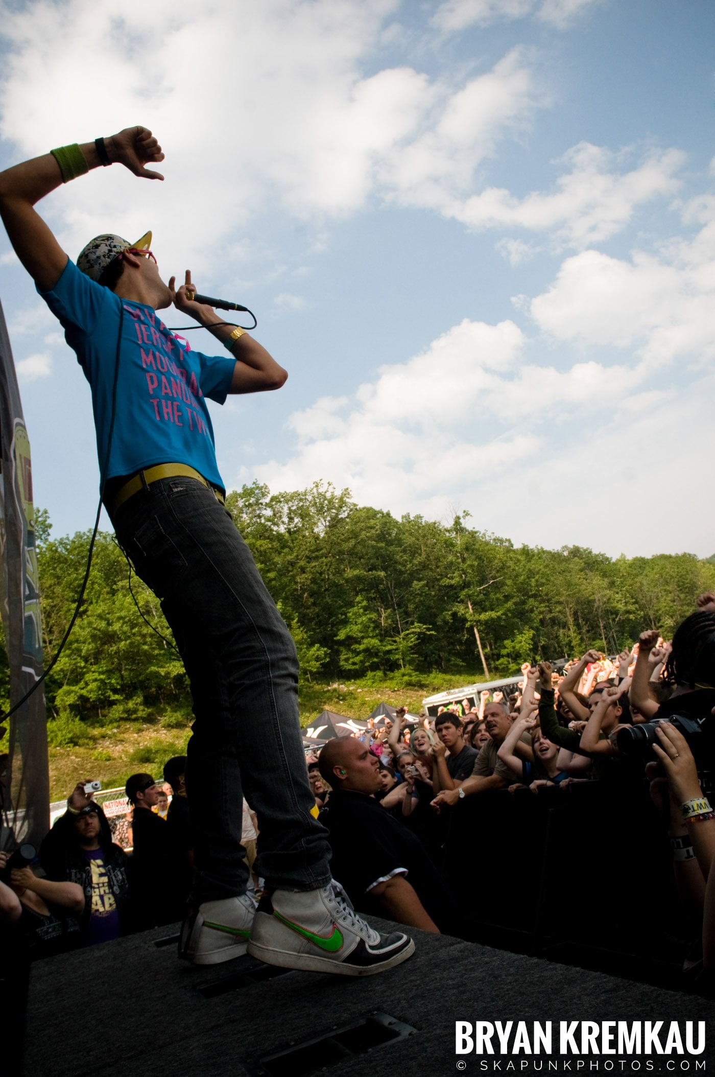 Cobra Starship @ Warped Tour 08, Scranton PA - 7.27.08 (7)