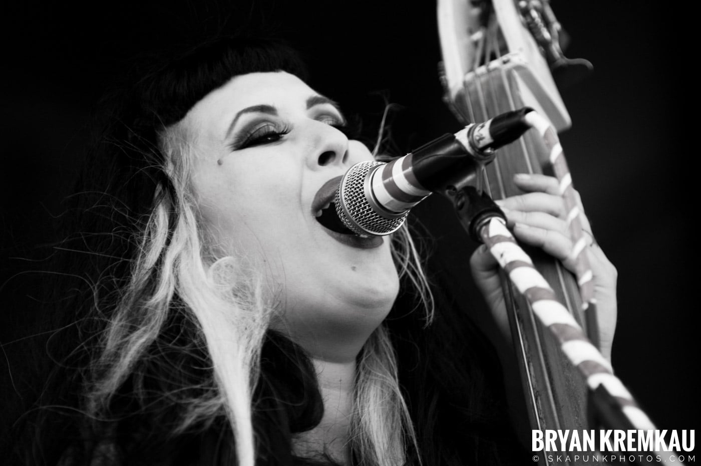 The Horrorpops @ Warped Tour 08, Scranton PA - 7.27.08 (4)