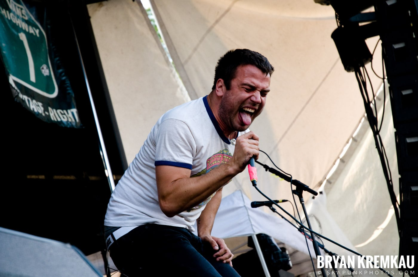 Say Anything @ Warped Tour 08, Scranton PA - 7.27.08 (1)