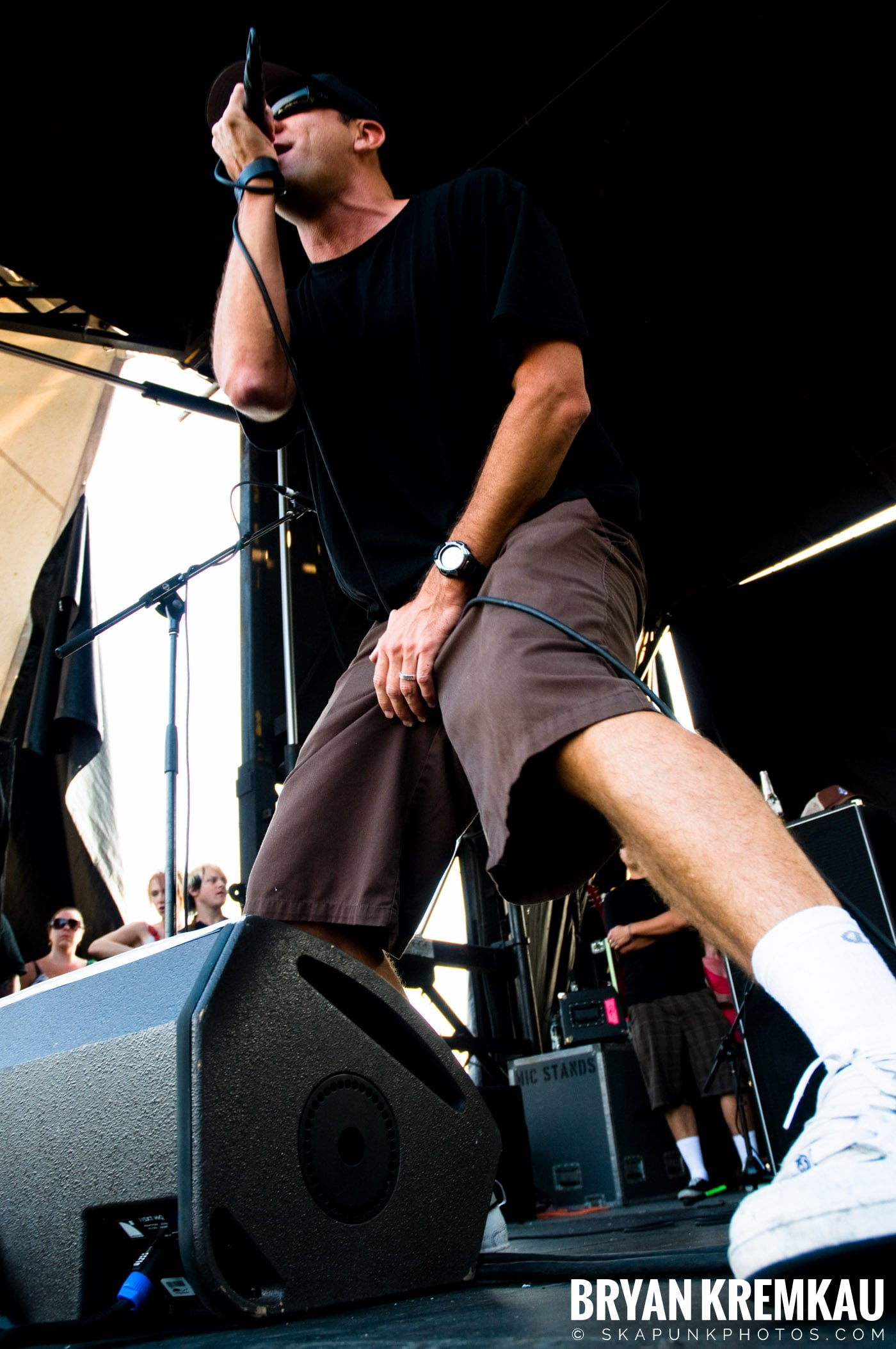 Pennywise @ Warped Tour 08, Scranton PA - 7.27.08 (6)