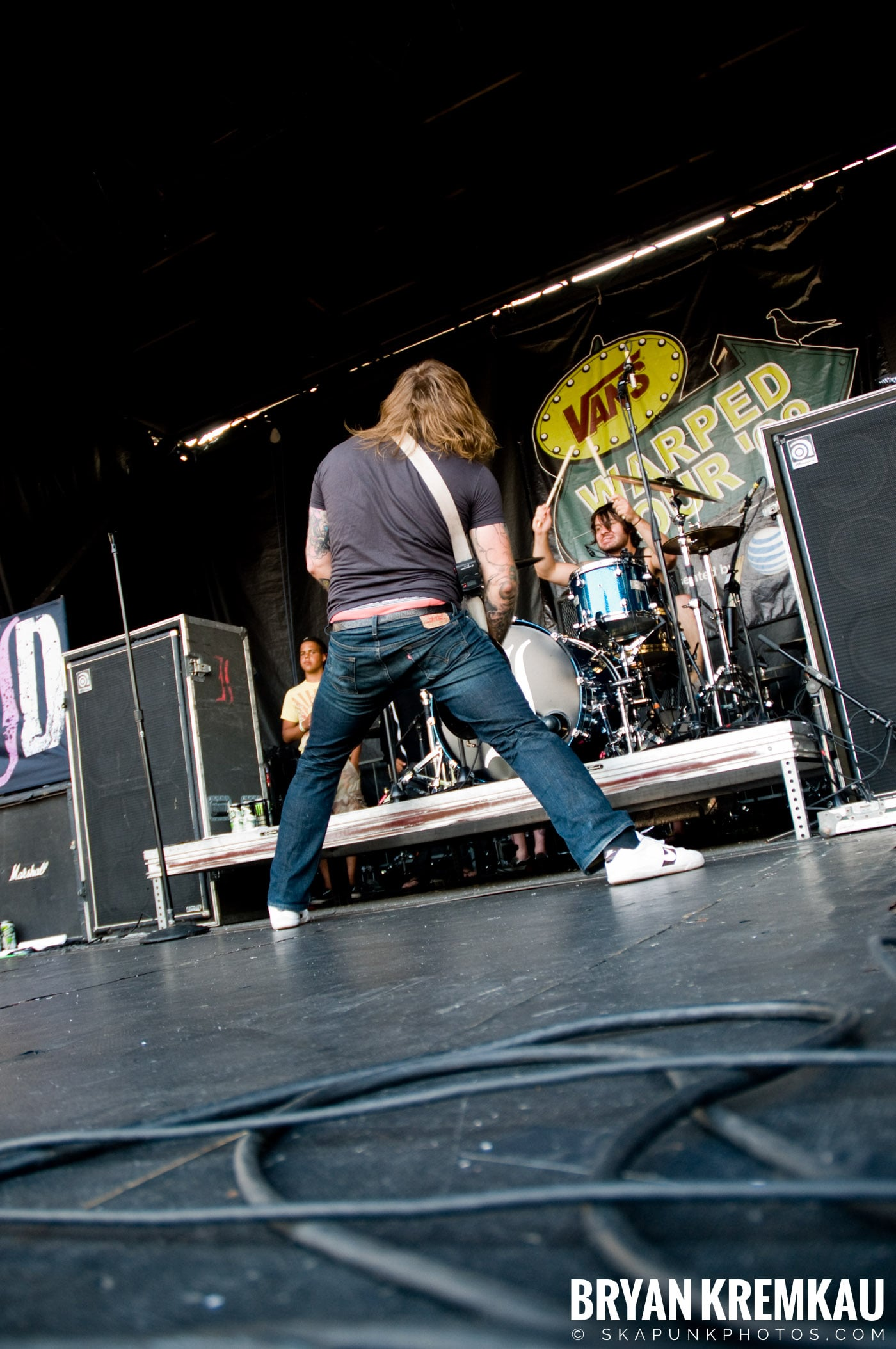Everytime I Die @ Warped Tour 08, Scranton PA - 7.27.08 (13)