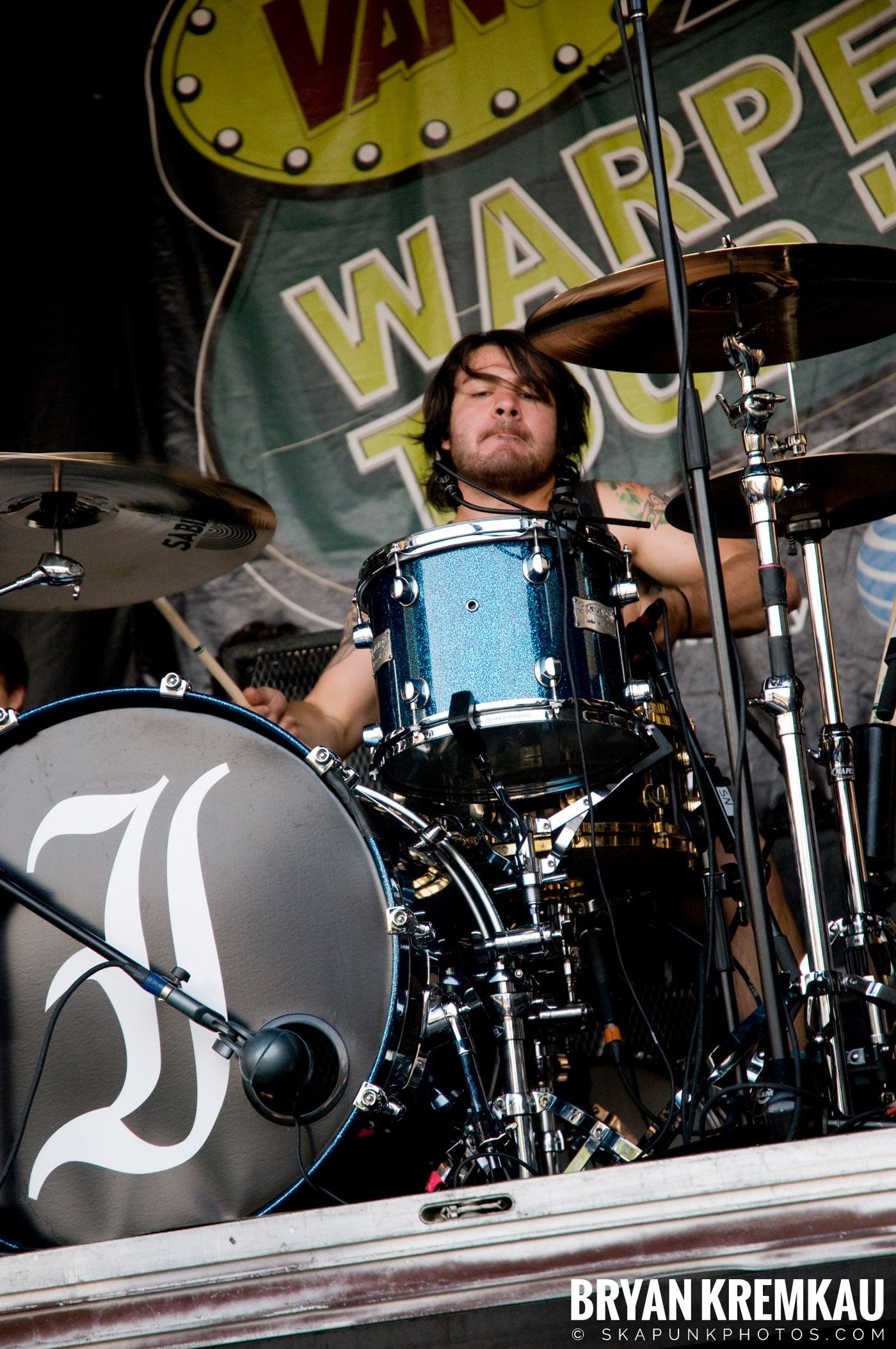 Everytime I Die @ Warped Tour 08, Scranton PA - 7.27.08 (11)