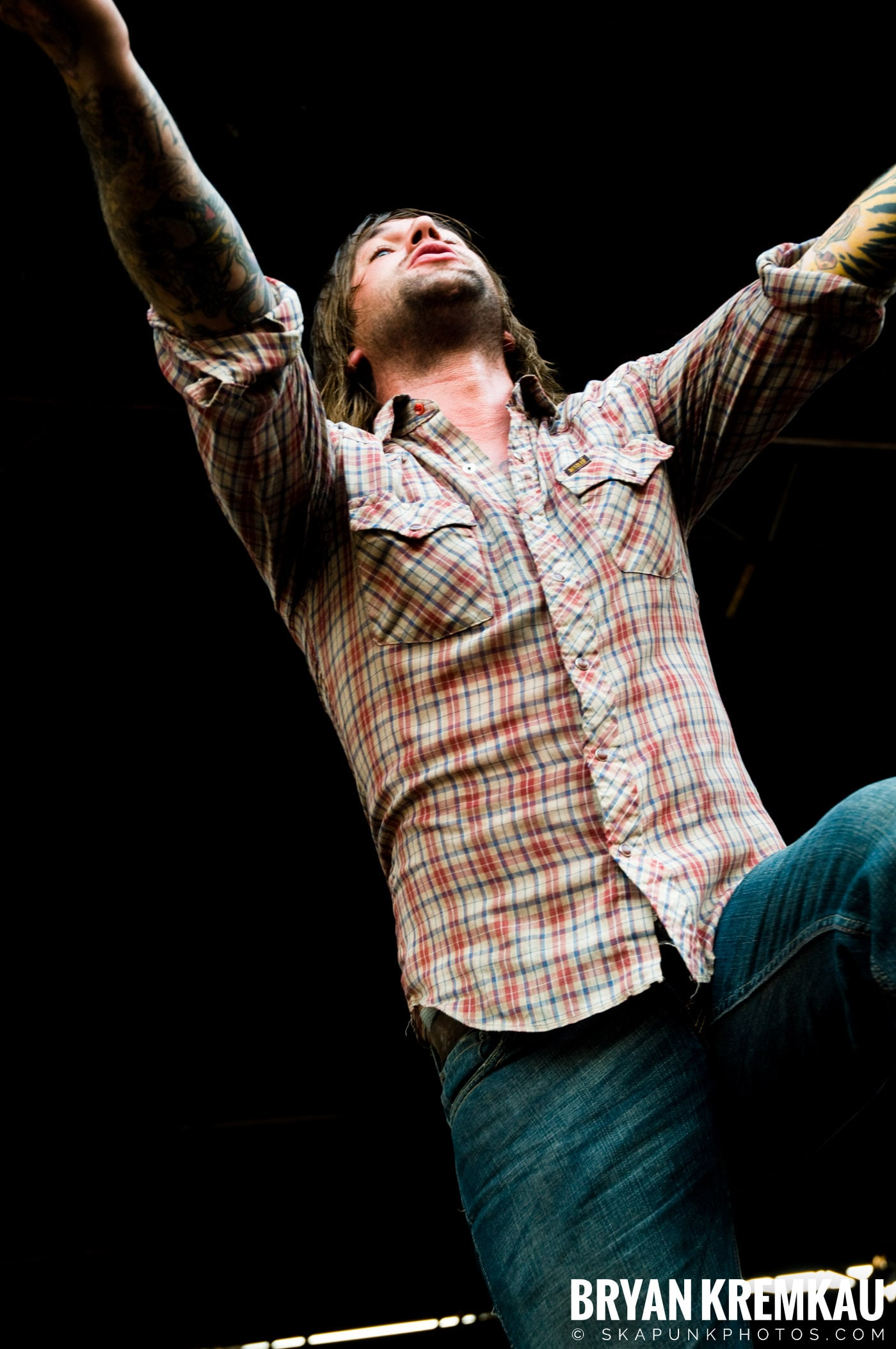 Everytime I Die @ Warped Tour 08, Scranton PA - 7.27.08 (4)