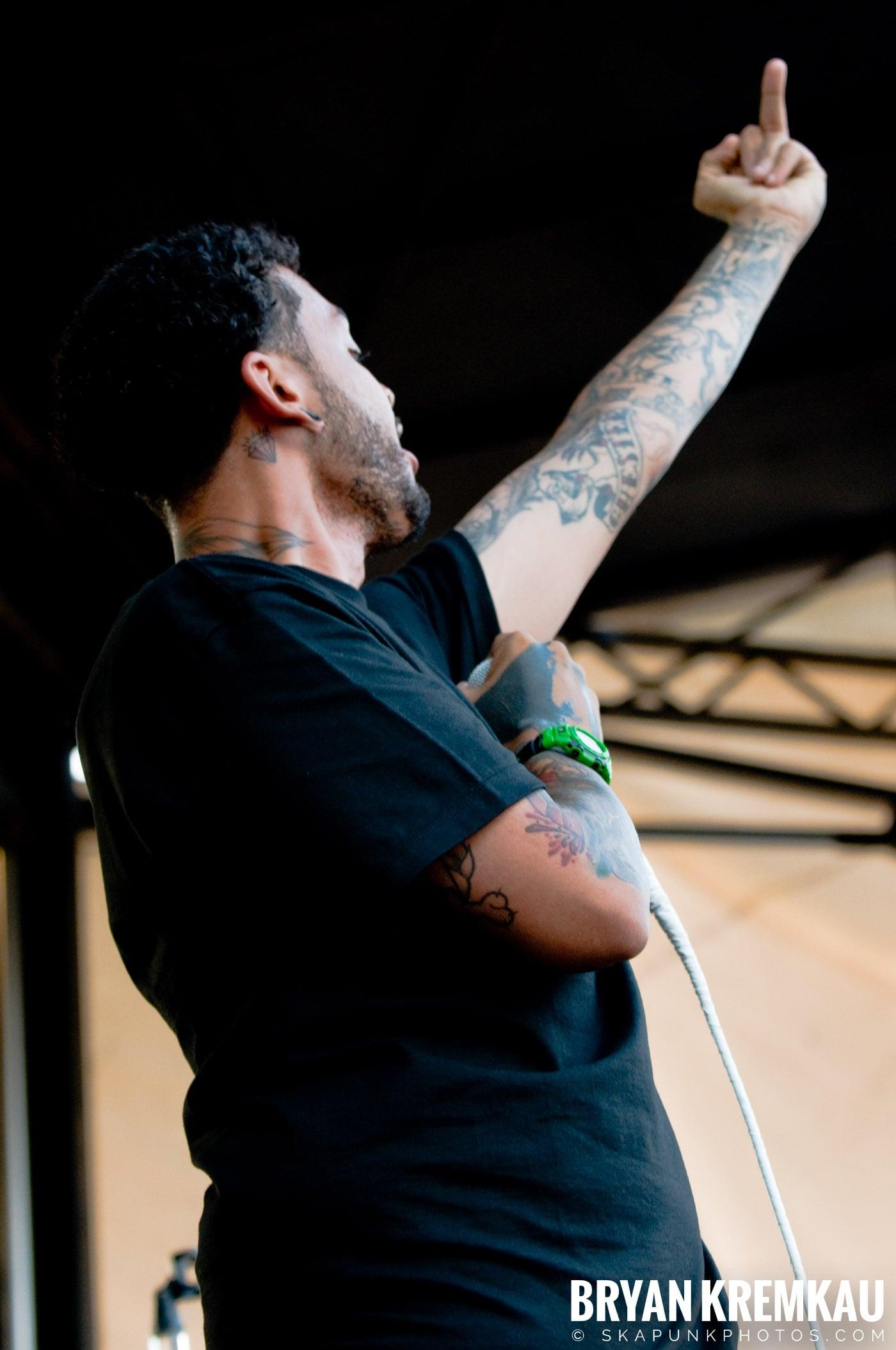 Gym Class Heroes @ Warped Tour 08, Scranton PA - 7.27.08 (4)