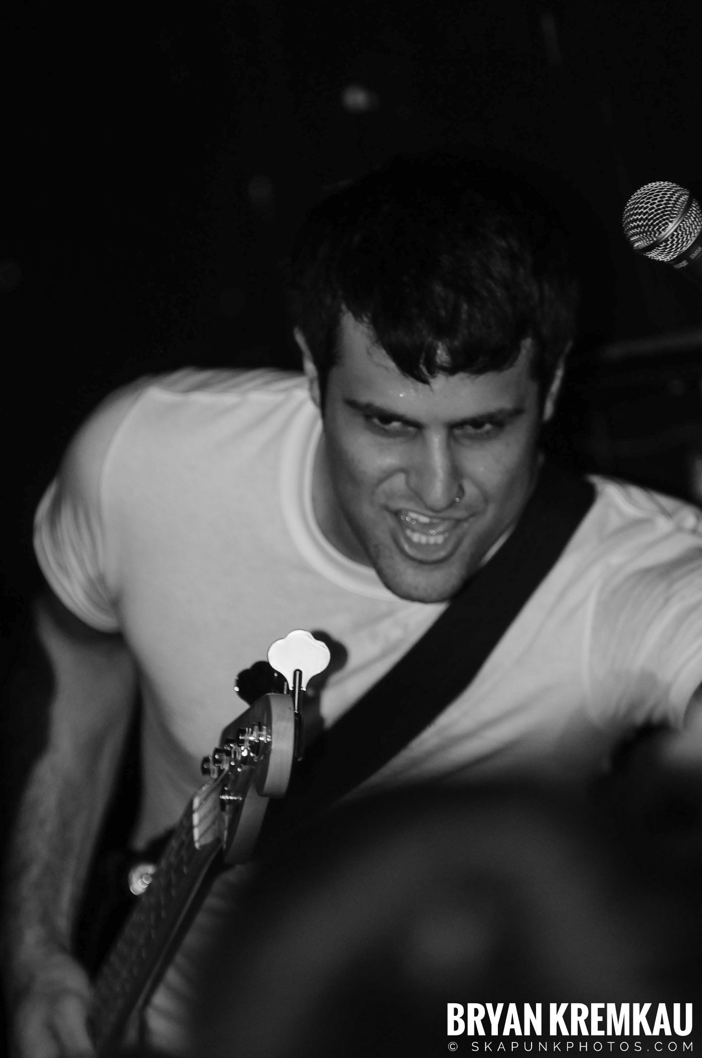 Gaslight Anthem @ Cafe Metropolis, Wilkes-Barre PA - 9.18.08 (4)