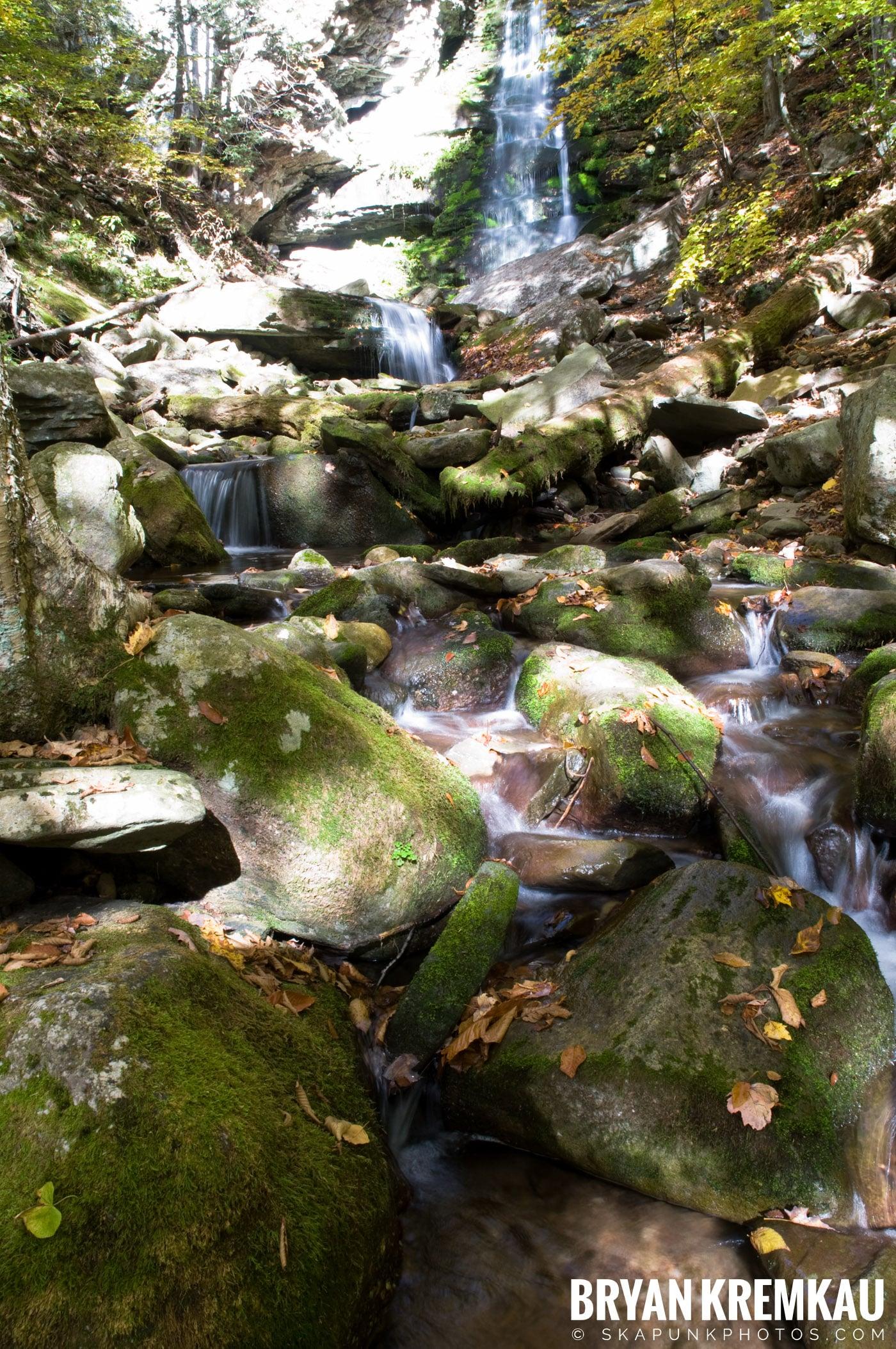 Peekamoose Road Waterfall and Rondout Reservoir - 10.12.08 (23)