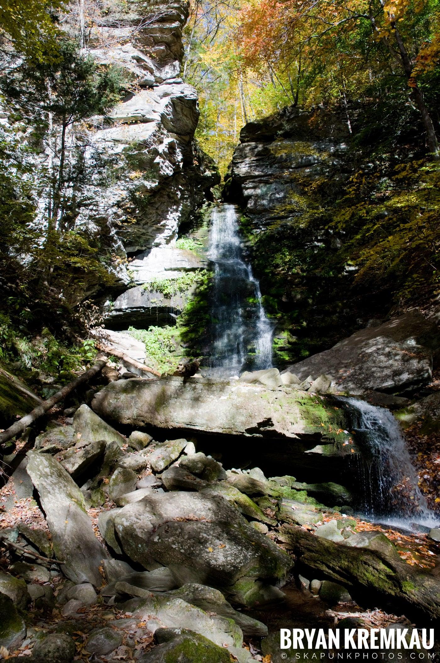 Peekamoose Road Waterfall and Rondout Reservoir - 10.12.08 (19)