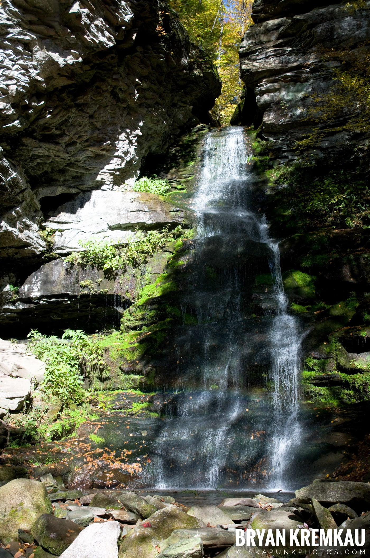 Peekamoose Road Waterfall and Rondout Reservoir - 10.12.08 (18)