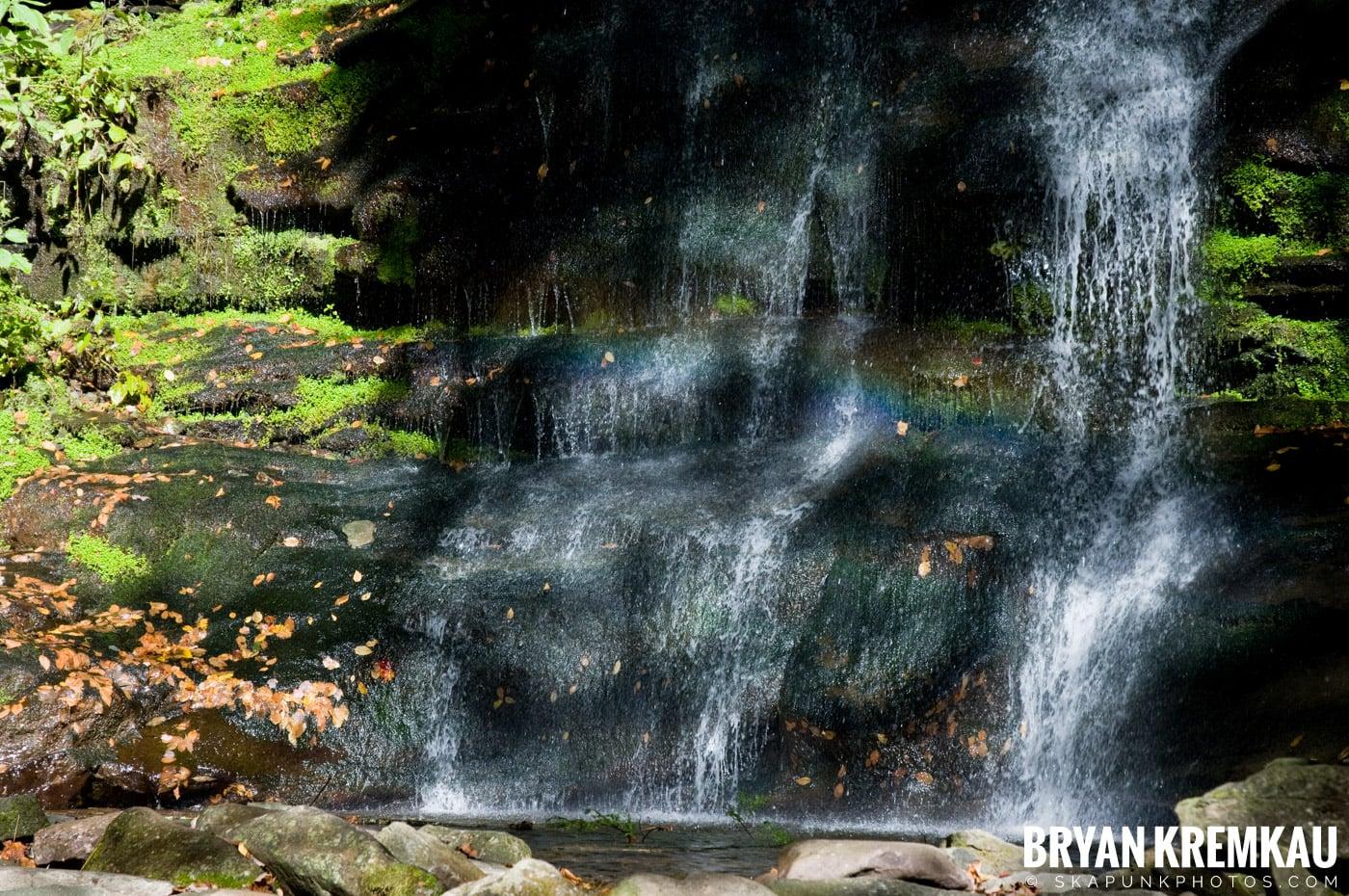 Peekamoose Road Waterfall and Rondout Reservoir - 10.12.08 (17)