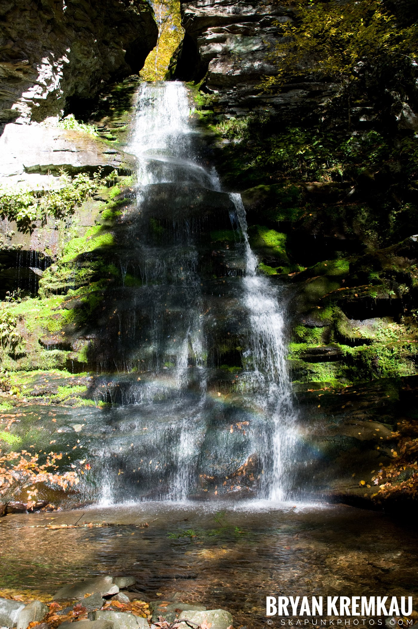 Peekamoose Road Waterfall and Rondout Reservoir - 10.12.08 (15)