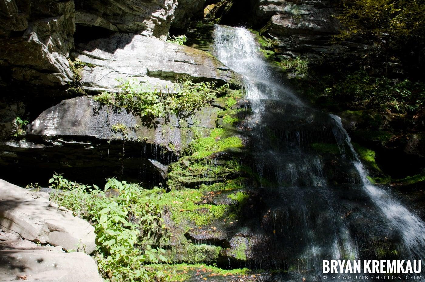 Peekamoose Road Waterfall and Rondout Reservoir - 10.12.08 (13)