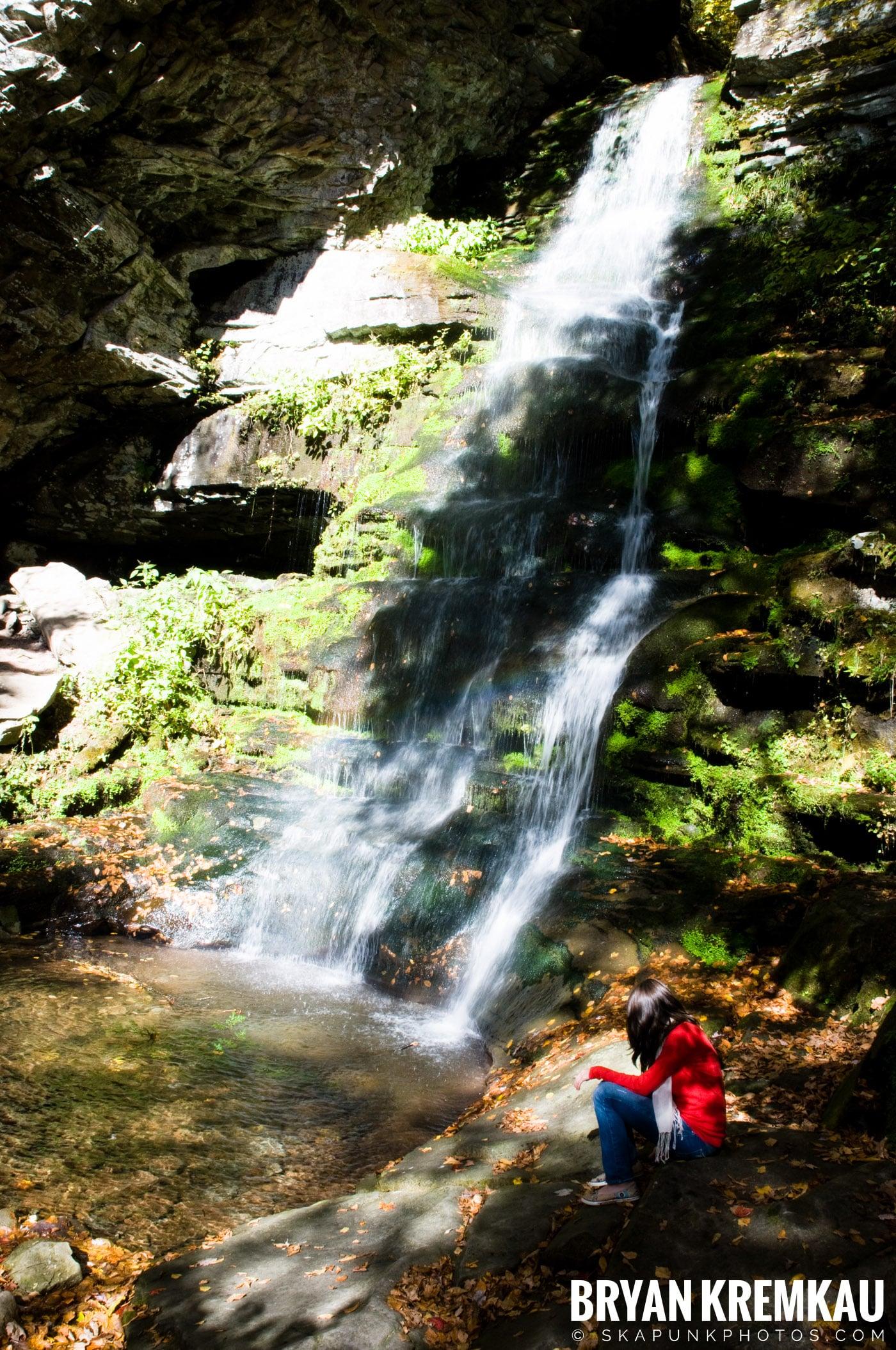 Peekamoose Road Waterfall and Rondout Reservoir - 10.12.08 (10)