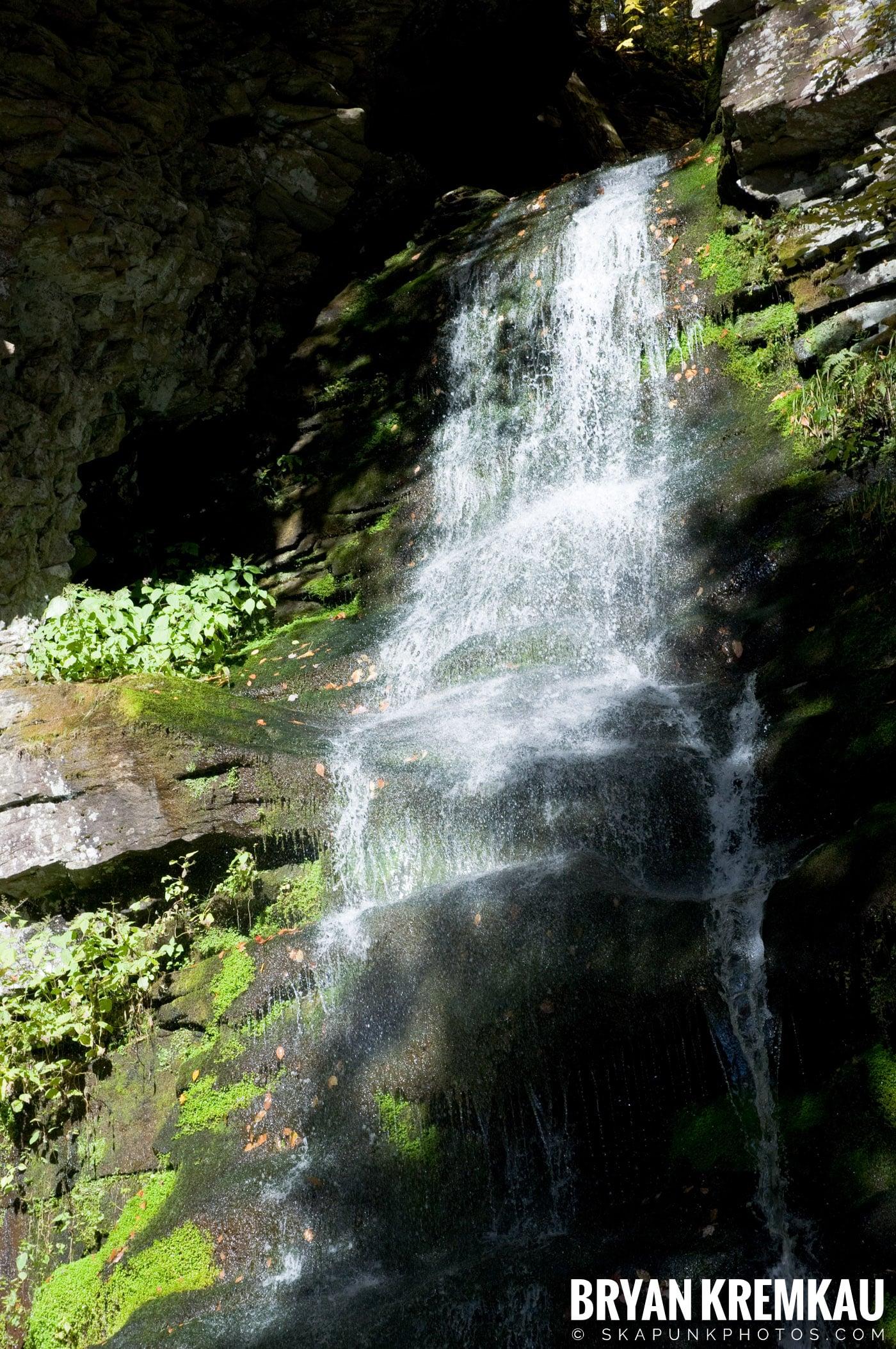 Peekamoose Road Waterfall and Rondout Reservoir - 10.12.08 (9)