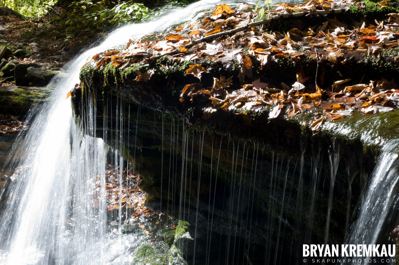 Peekamoose Road Waterfall and Rondout Reservoir - 10.12.08 (6)