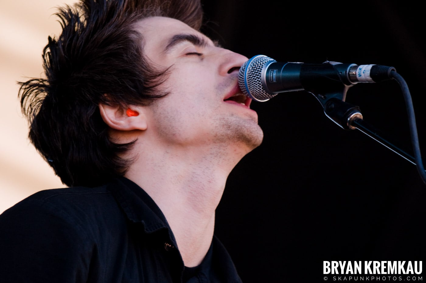Anti-Flag @ Warped Tour 2009, Scranton PA - 07.15.09 (6)