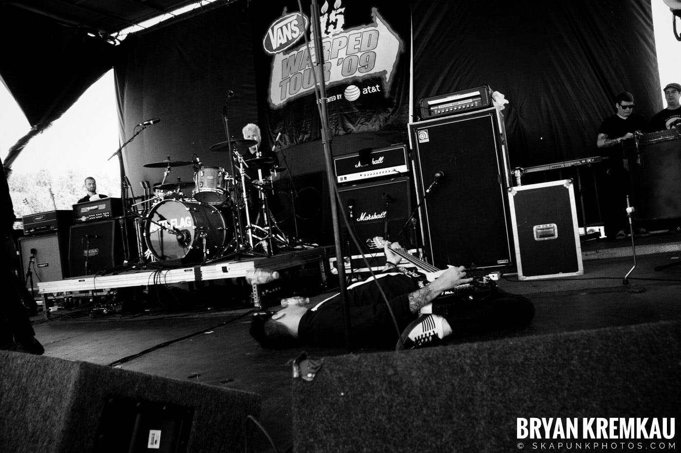 Anti-Flag @ Warped Tour 2009, Scranton PA - 07.15.09 (3)