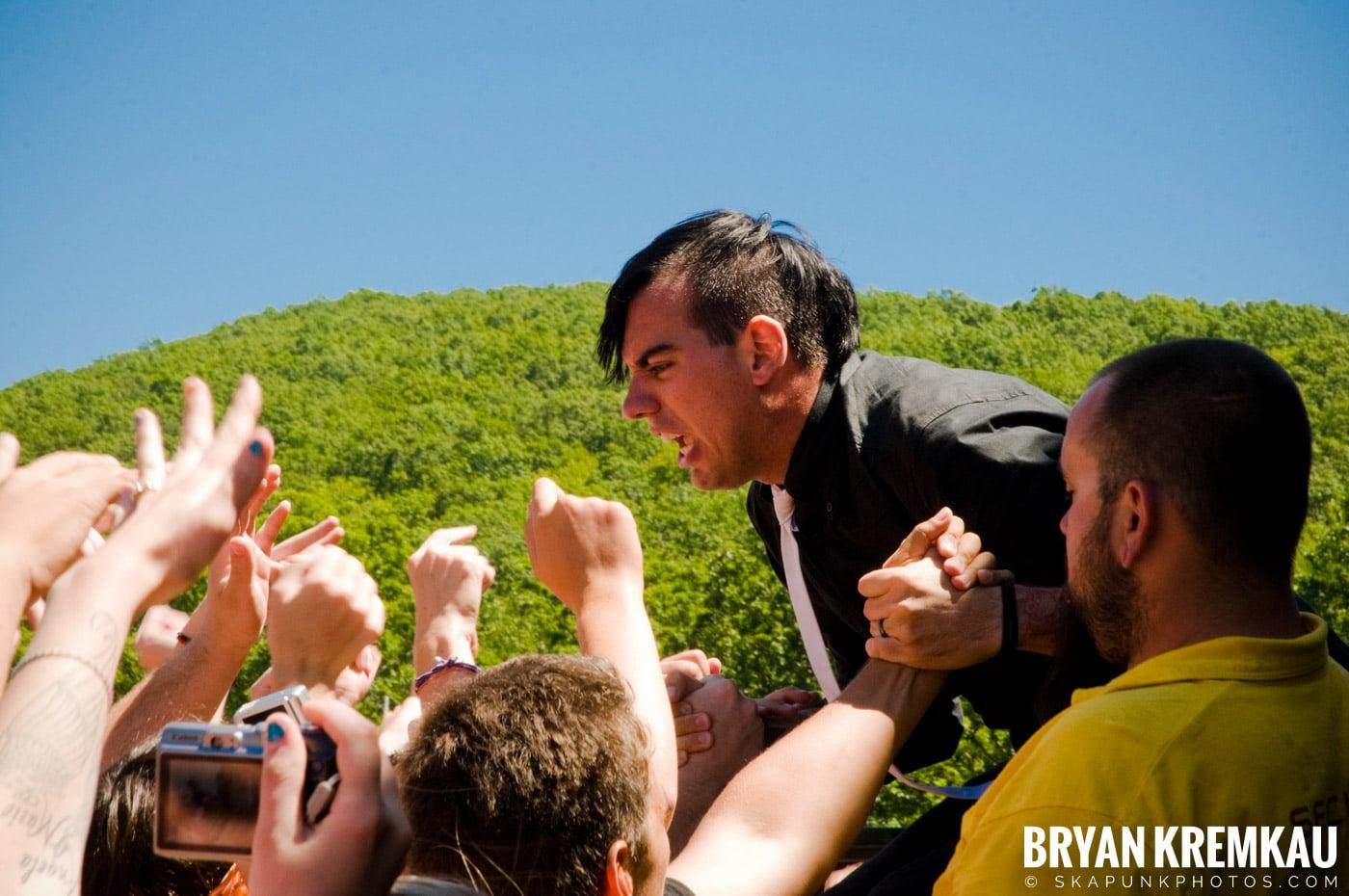 Anti-Flag @ Warped Tour 2009, Scranton PA - 07.15.09 (1)