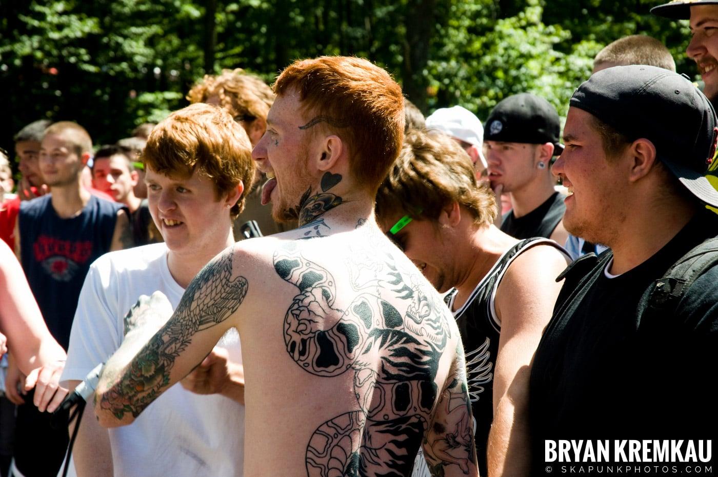 Gallows @ Warped Tour 2009, Scranton PA - 07.15.09 (7)