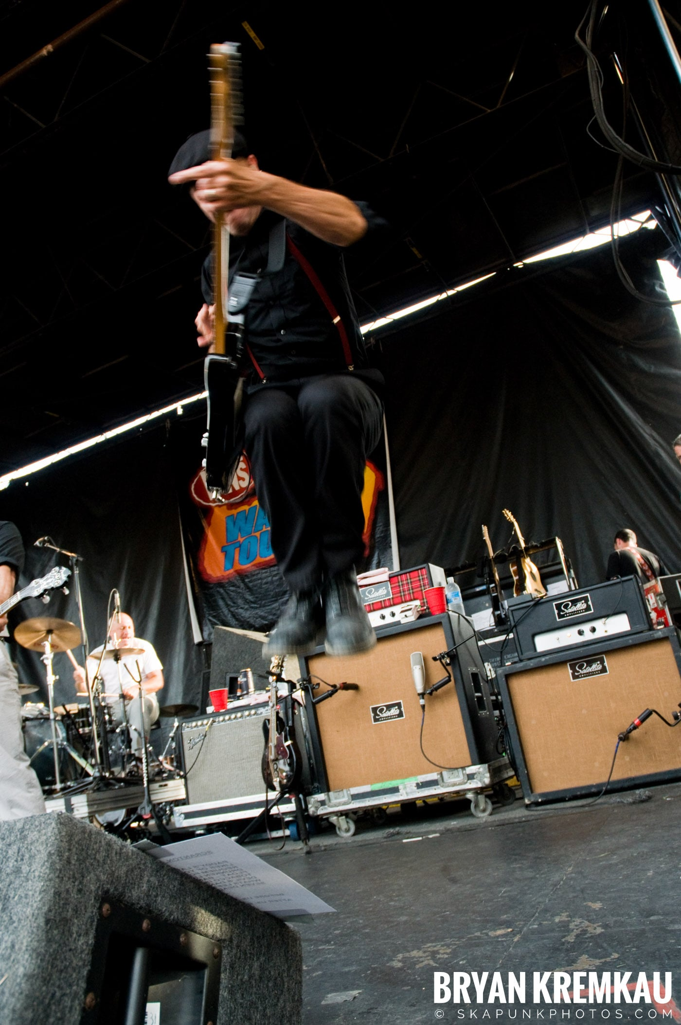 Flogging Molly @ Warped Tour 2009, Scranton PA - 07.15.09 (2)