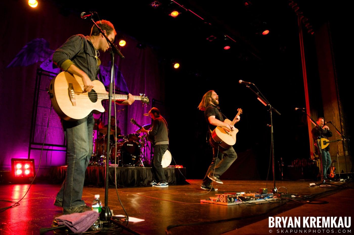 Great Big Sea @ Tarrytown Music Hall, Tarrytown, NY - 10.10.09 (10)